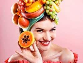 lo que necesitamos para hacer un sombrero de frutas