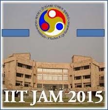 JAM 2015 Test Syllabus