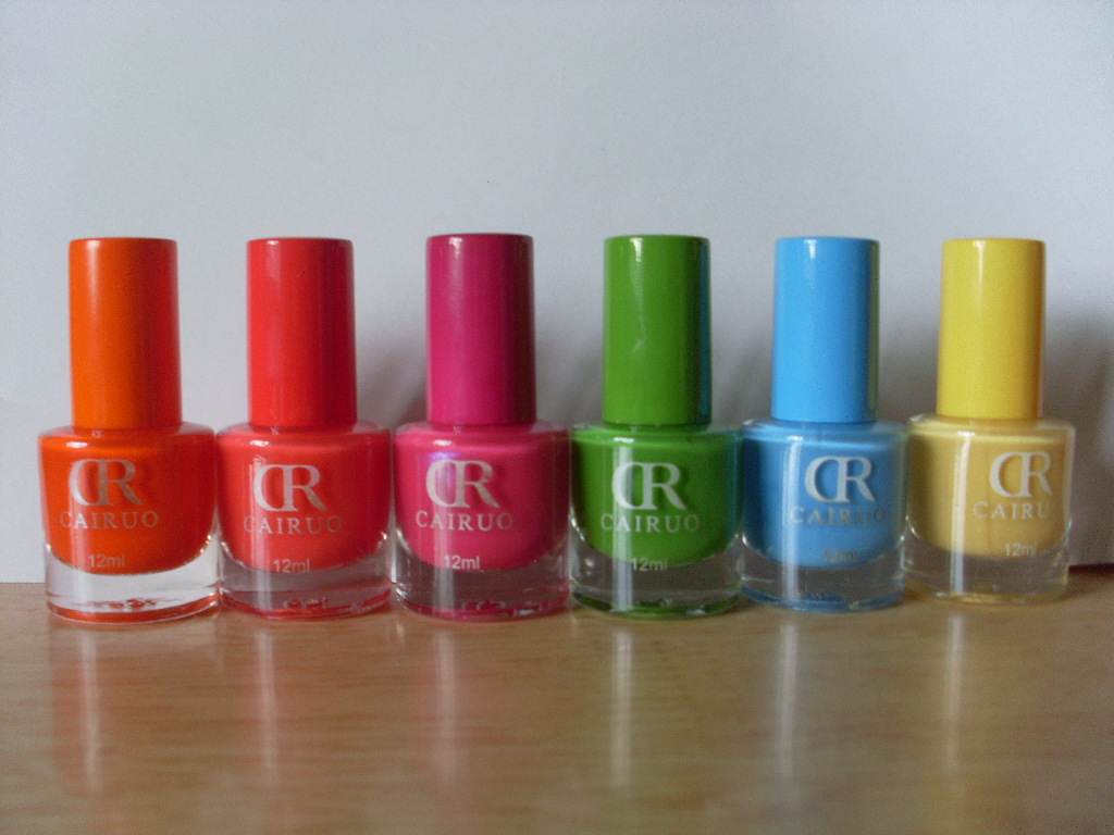 Bite No More: CR Cairuo Nail Polish