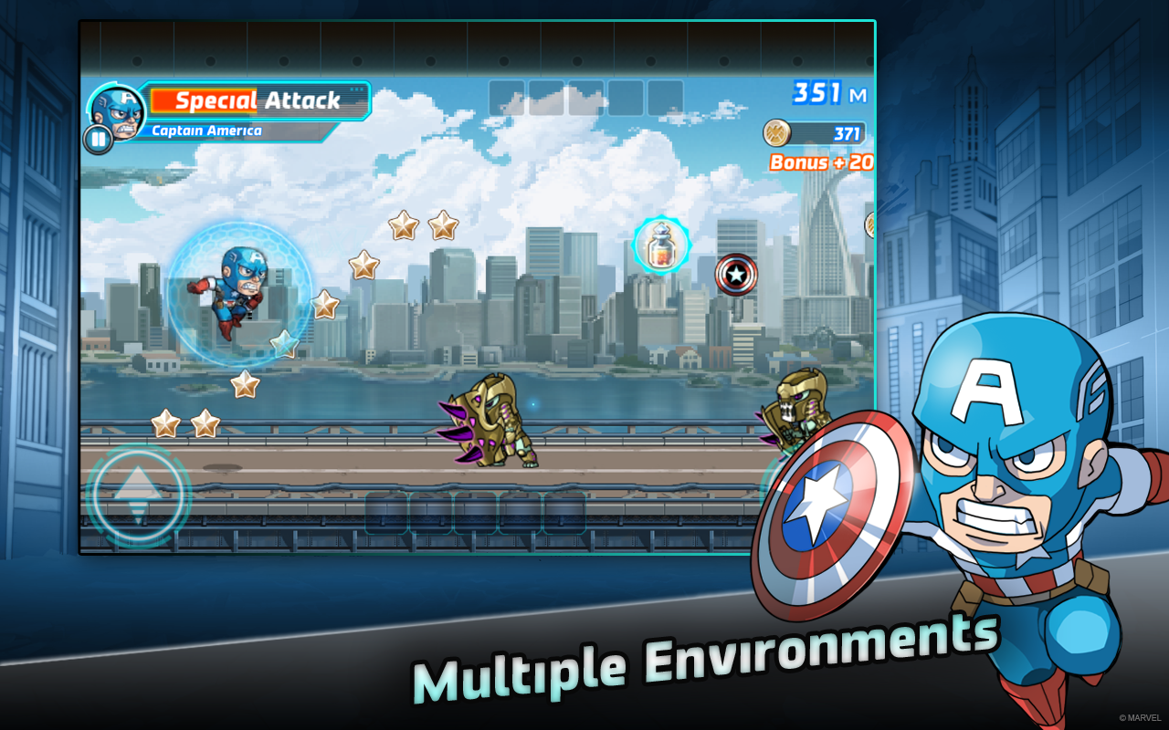 Marvel Run Jump Smash! Android Game