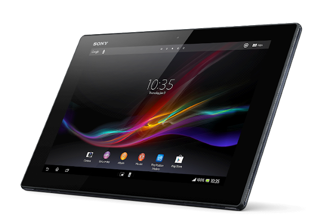 Technology Sony Xperia Tablet Z General Specs