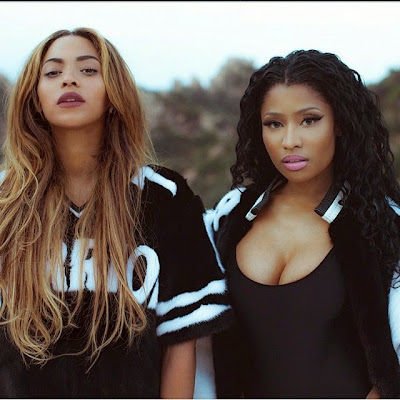 Nicki Minaj and Beyonce