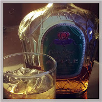 Best part of cooking with  Crown Royal's Regal Apple is that you can pour yourself a glass to enjoy as you work.
