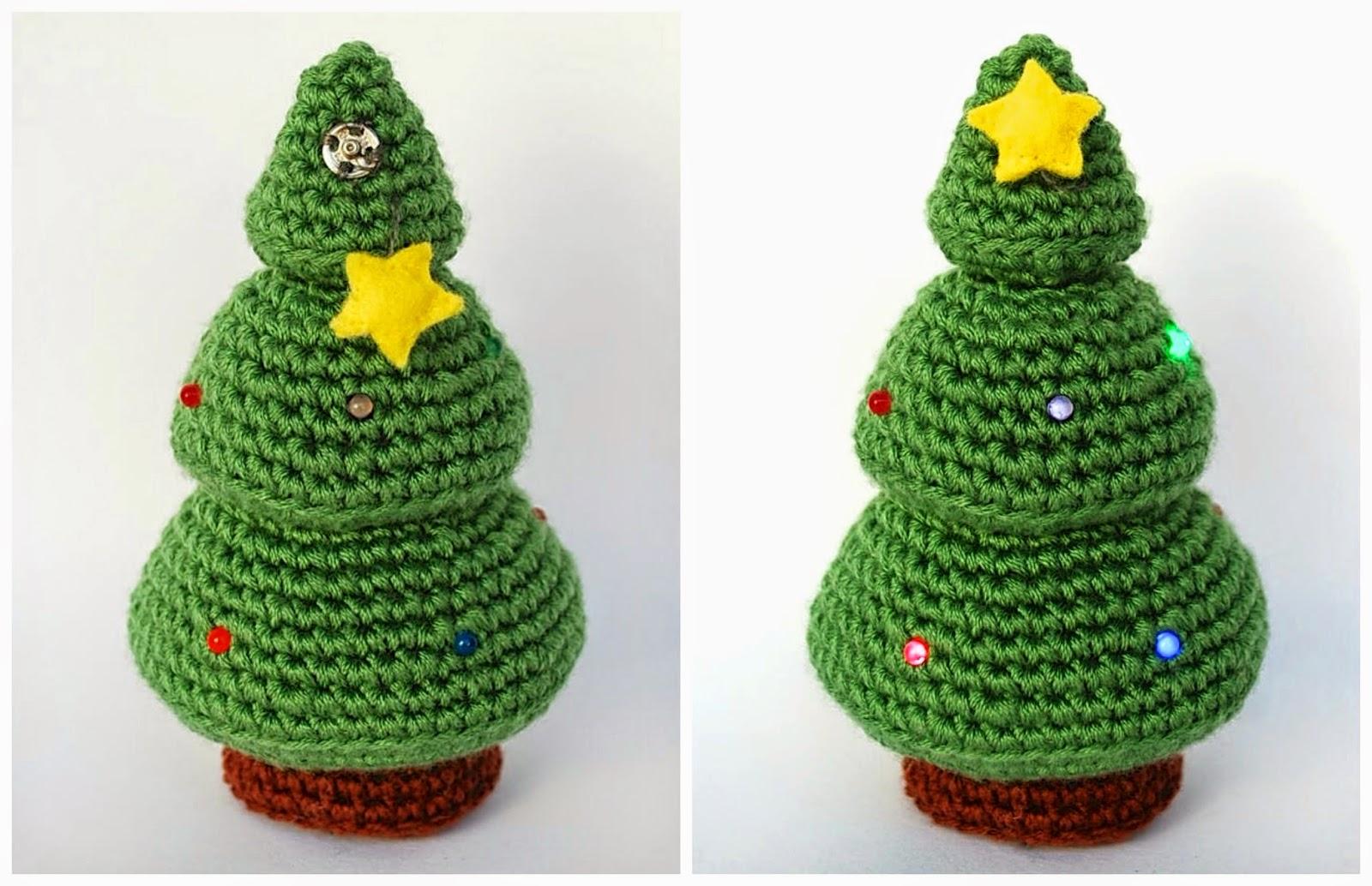Crafteando, que es gerundio: Patrón: Árbol de Navidad / Pattern ...