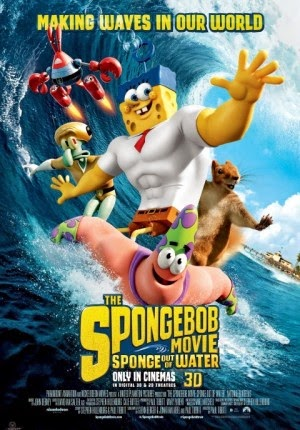 Jadwal Film SpongeBob Movie: Sponge Out of Water 3D