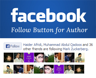 How to Add a Facebook Follow Button in Blogger ~ My Blogger Lab