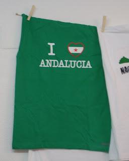 "Camiseta ""I LOVE ANDALUCÍA."""