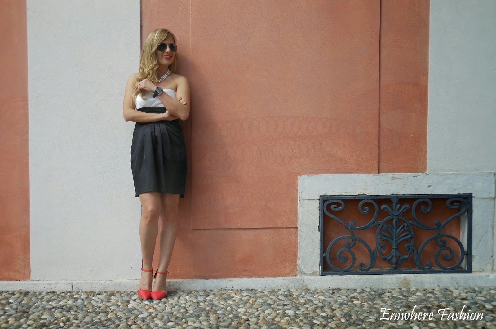 Eniwhere Fashion matrimonio vestito nero