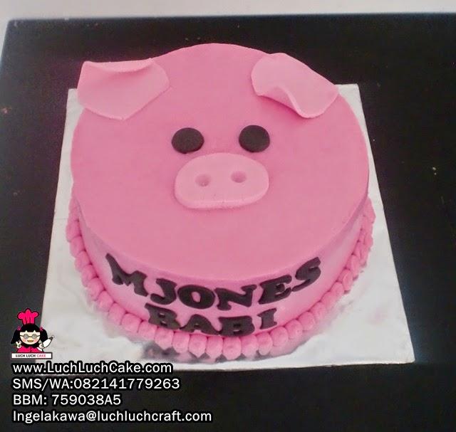 Kue Tart Kepala Babi Daerah Surabaya - Sidoarjo
