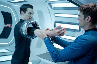 Karl Urban Benedict Cumberbatch Star Trek Into Darkness