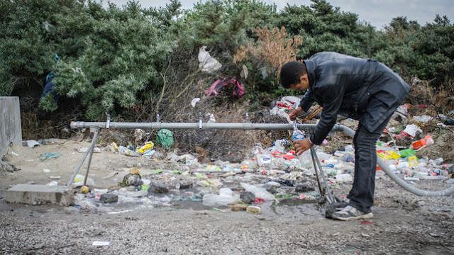 El abandono de Francia a los migrantes y refugiados en Calais