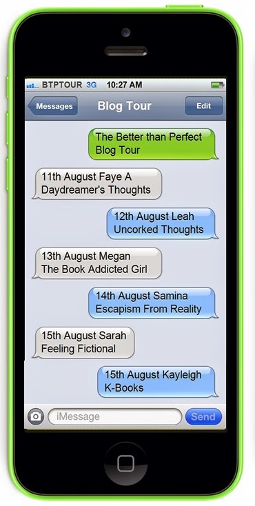 The Better Than Perfect Blog Tour