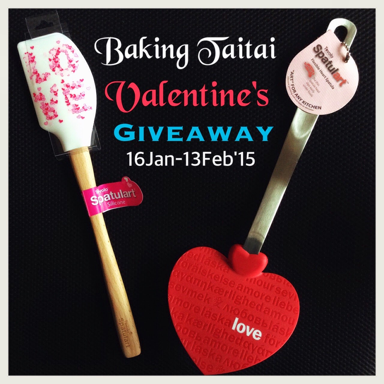 Click on image to take part in the Valentine's Giveaway 参加情人节赠品活动