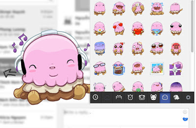 Download Emoji Sticker iPhone dan Android Facebook untuk PC