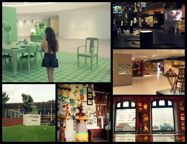 Museus com criança