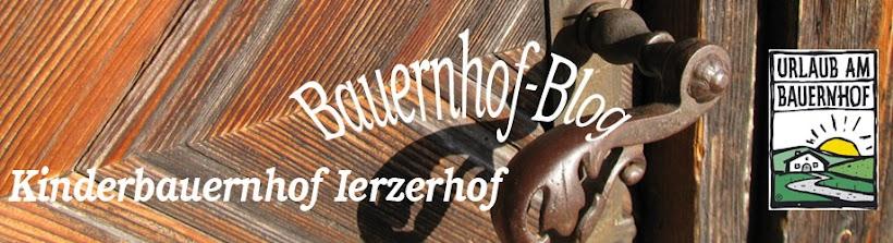 Kinderbauernhof Ierzerhof im Pitztal/Tirol - Bauernhof Erlebnis Tiere Kinder