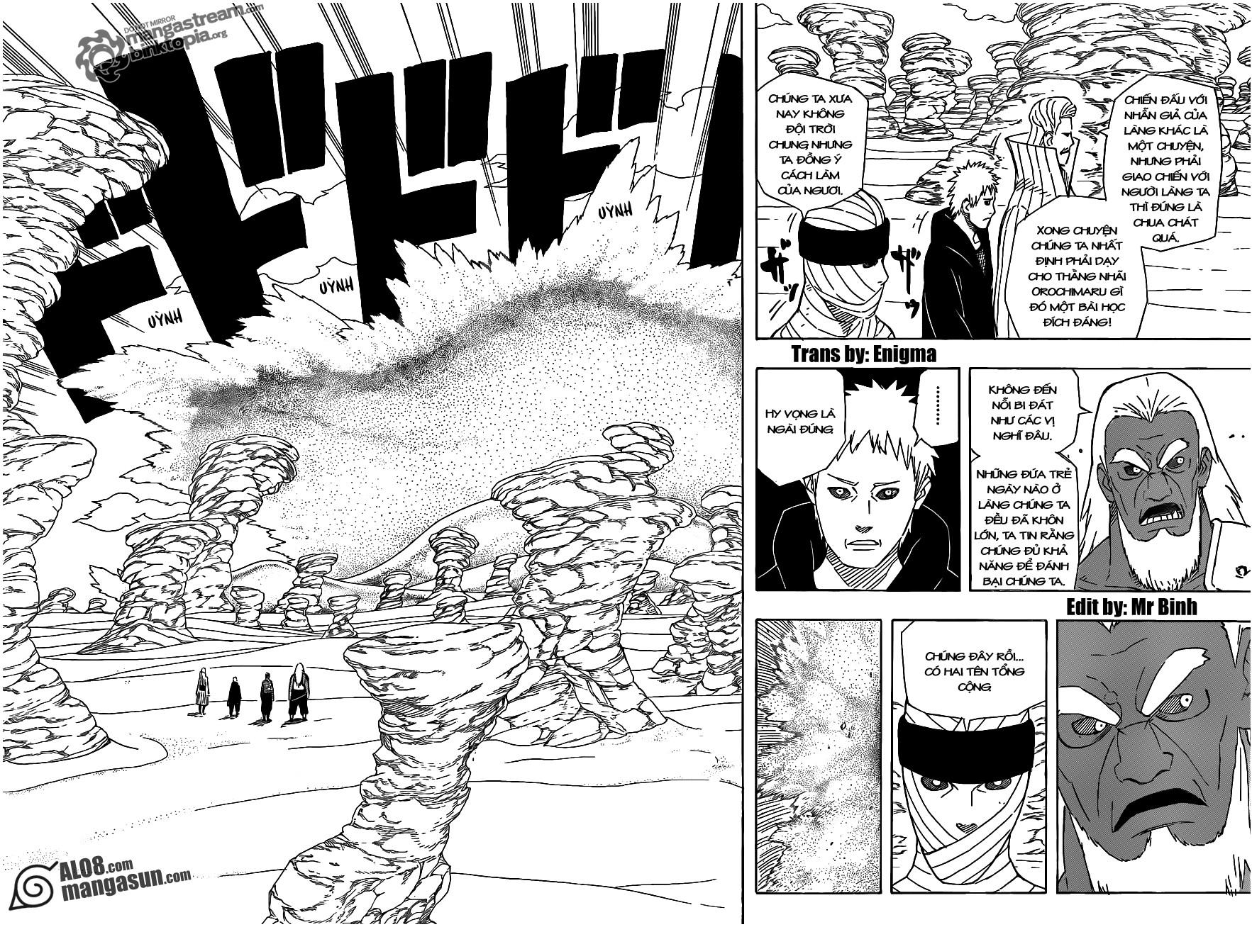 Naruto chap 546 Trang 8 - Mangak.info