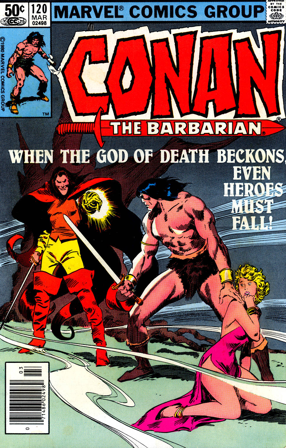 Conan the Barbarian (1970) Issue #120 #132 - English 1