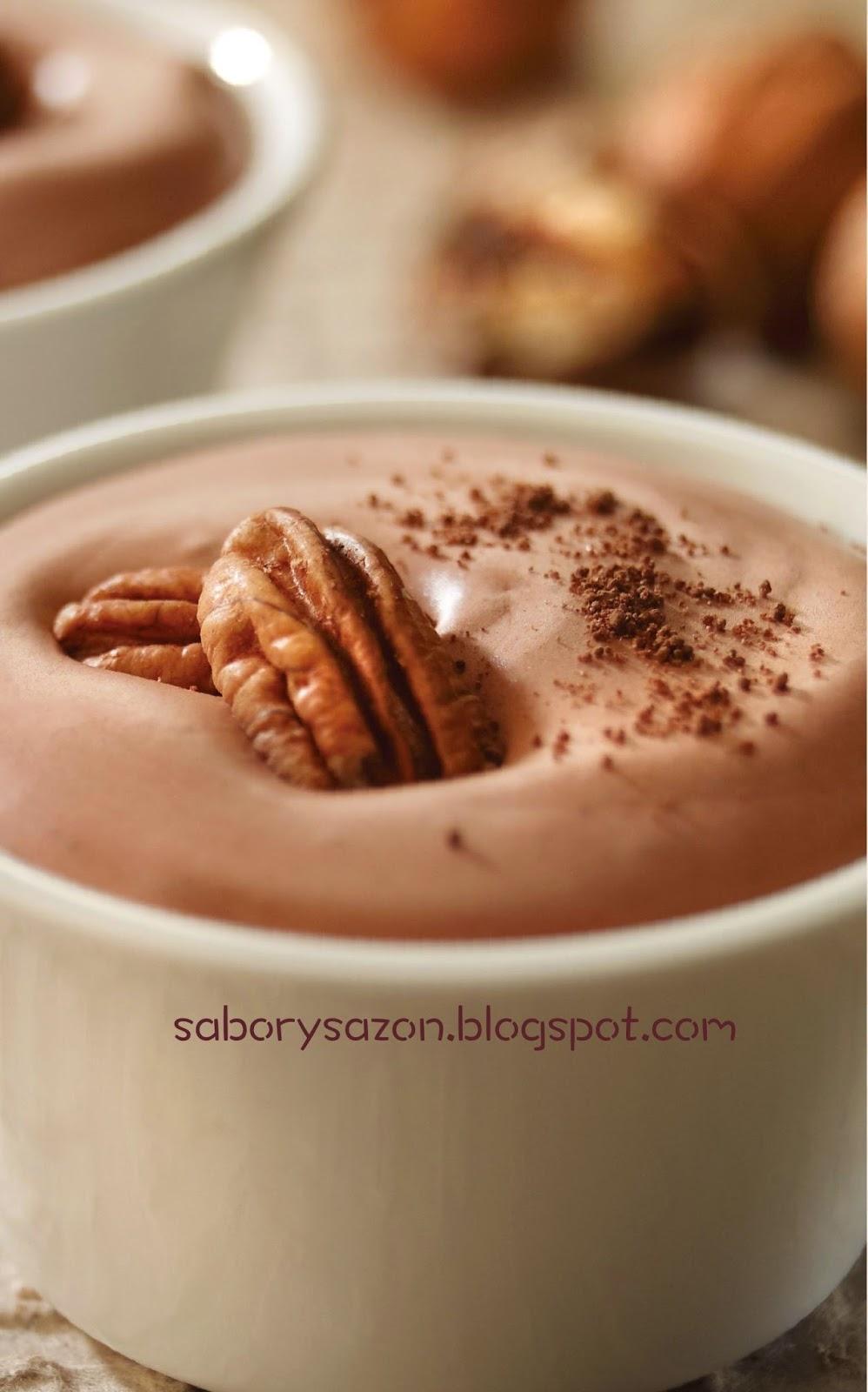 COMO PREPARAR NATILLA DE CHOCOLATE - POSTRES