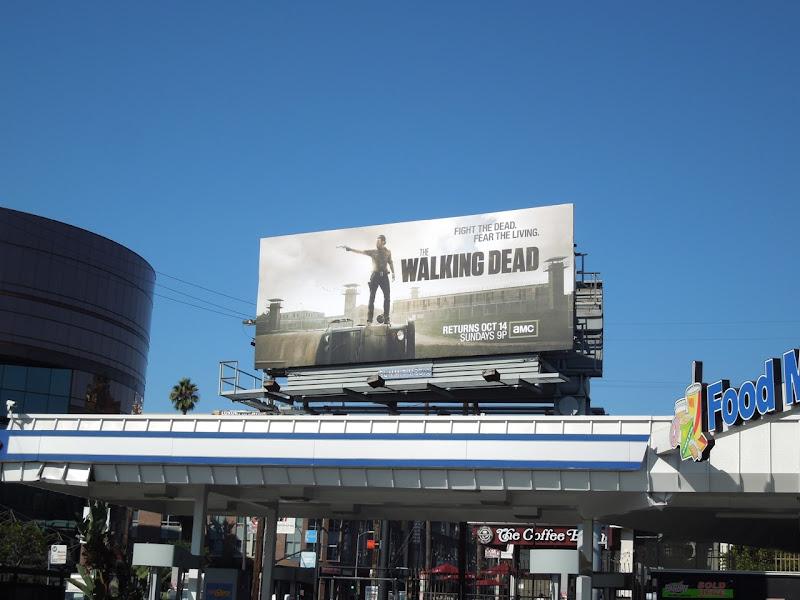 Walking Dead season 3 billboard