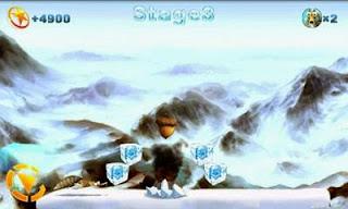 Screenshots of the Ice Runner for Android tablet, phone.