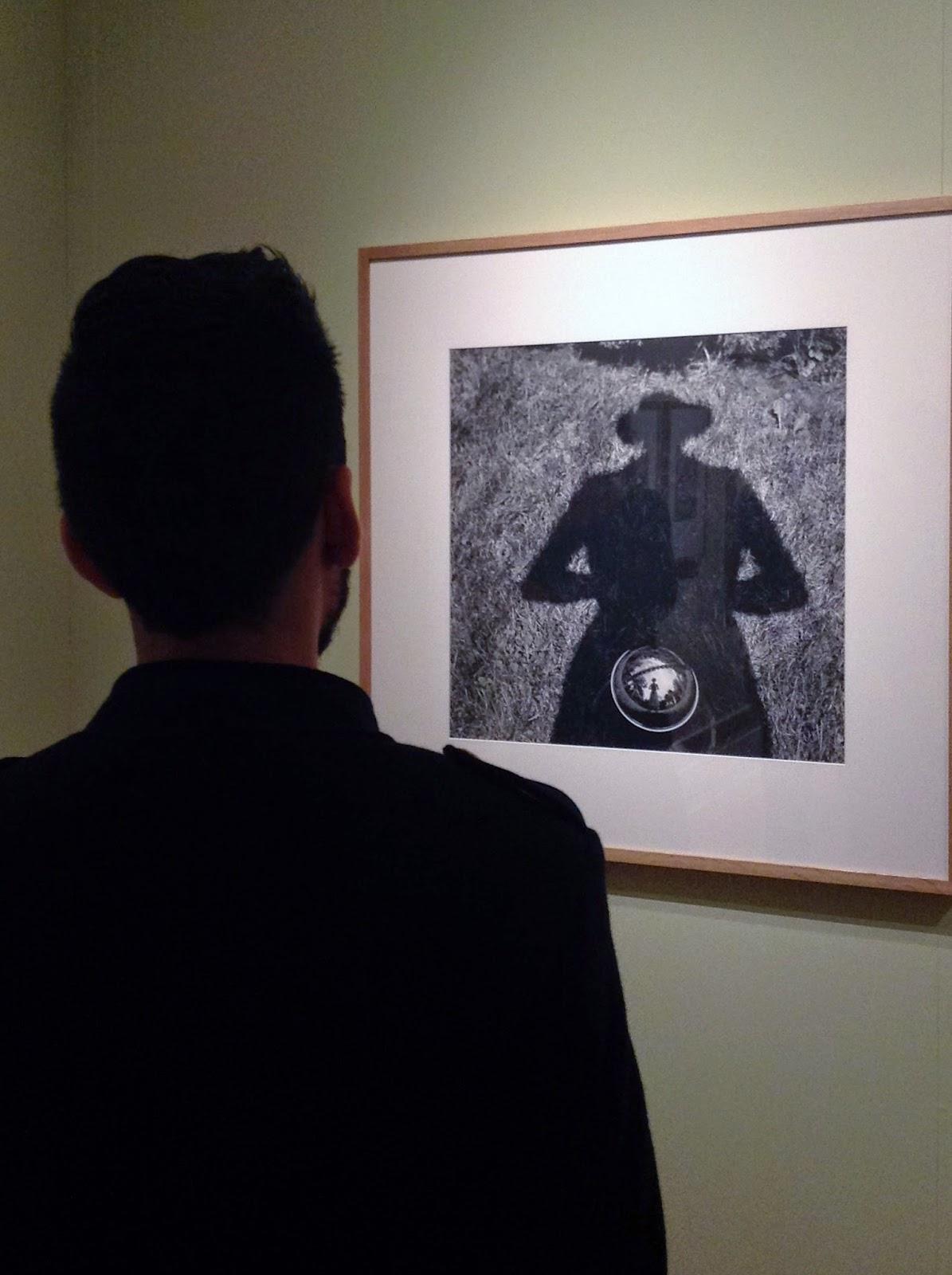 self portrait of Vivian Maier