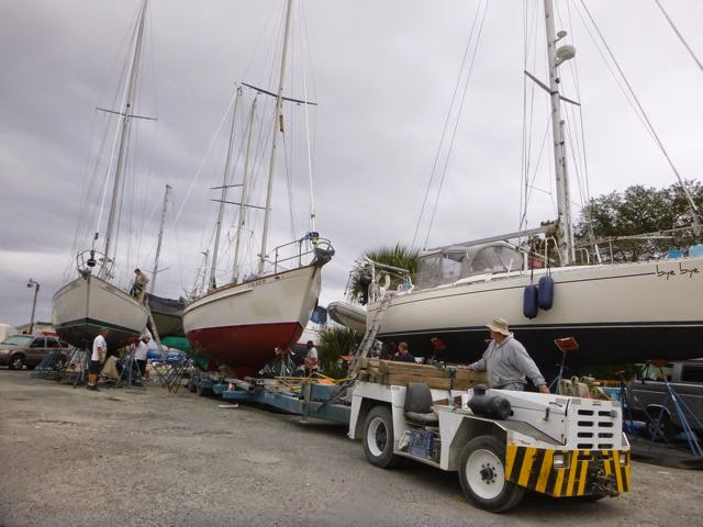 green cove springs moving pearson 365 sailboat