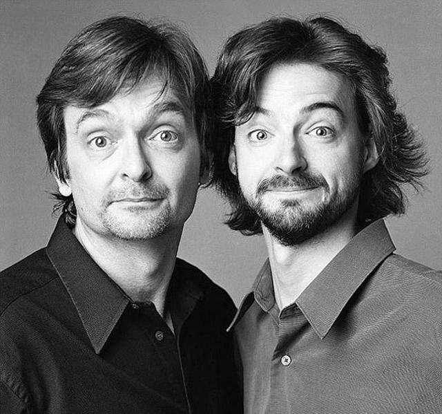 Extraños que parecen gemelos