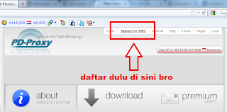 cara internet gratis Three aon di pc komputer