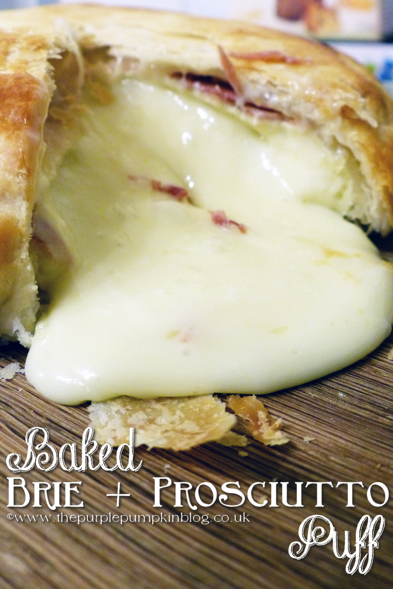 Baked Brie + Prosciutto Puff