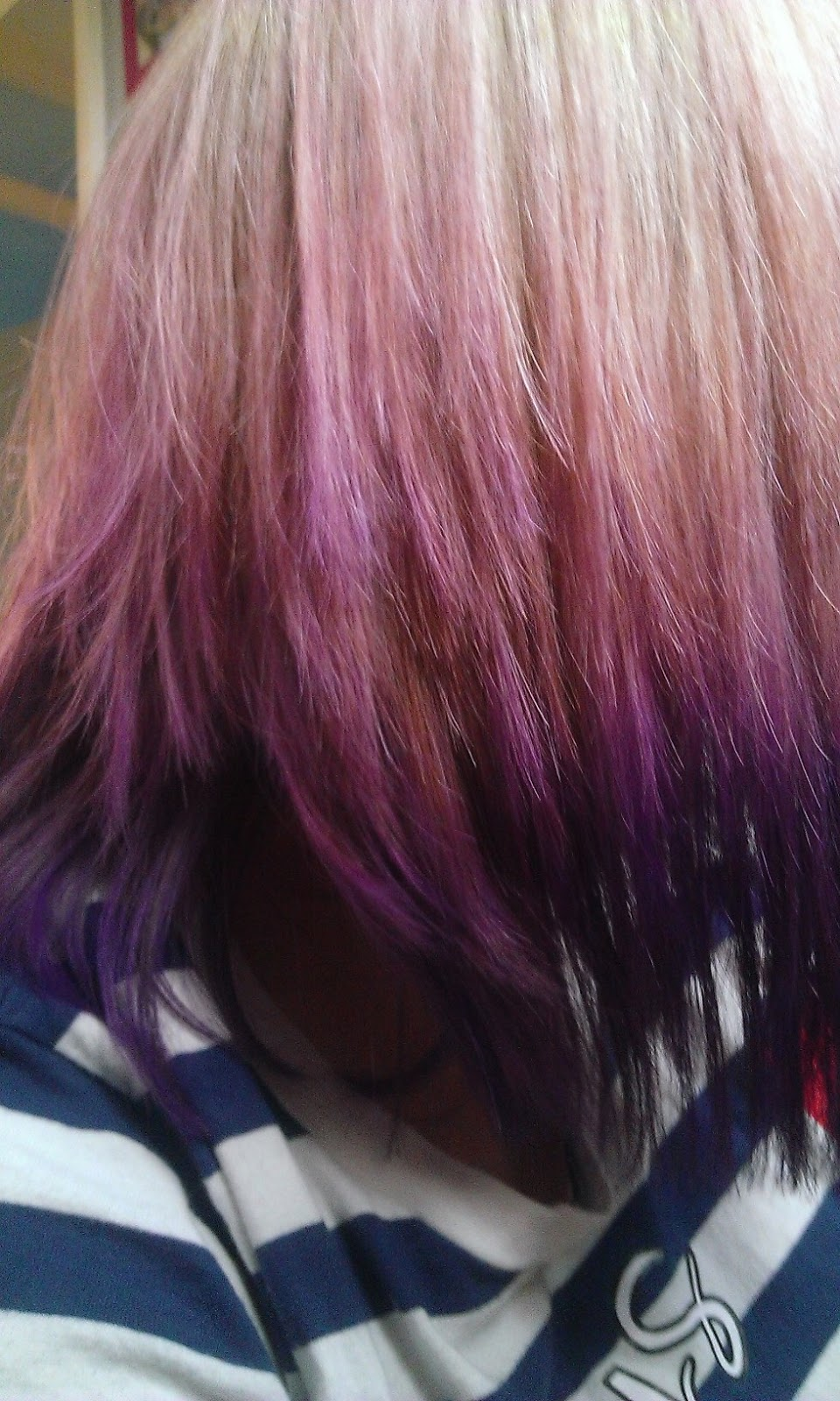 Displaying 20> Images For - Plum Ombre Hair...