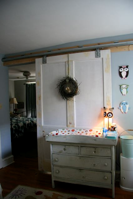 Sliding Barn Door Nursery