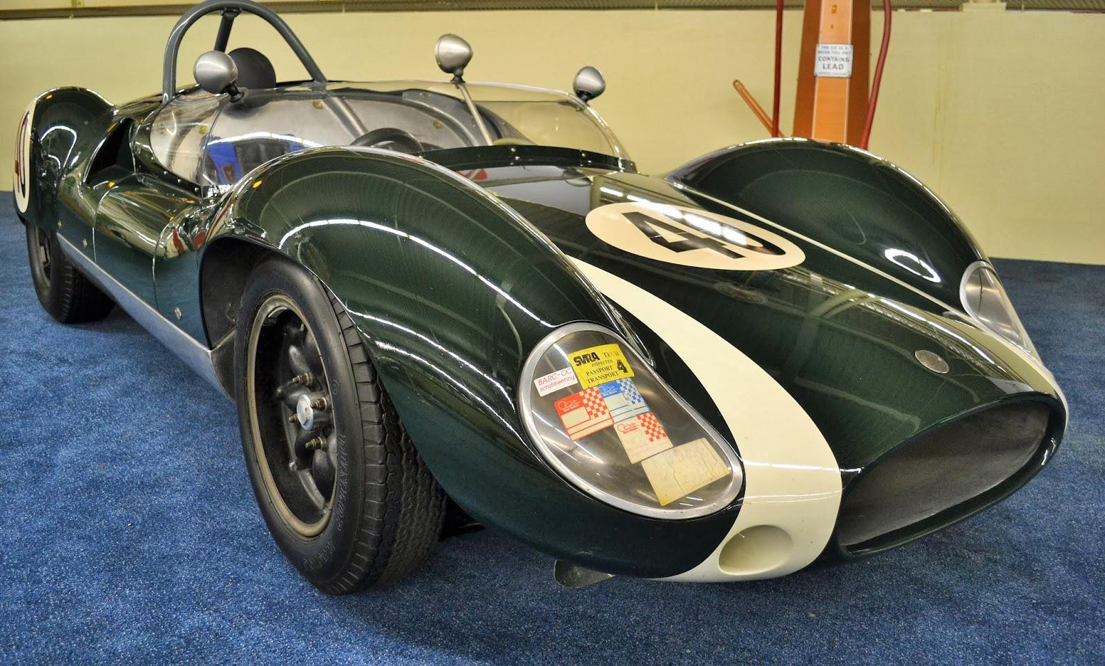 1961 Cooper Monaco Type 57 Mark II Race Car | Travelin\' Man