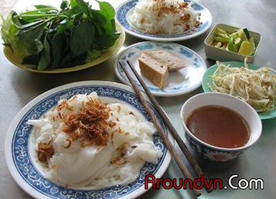 Banh cuon - Top 10 the most delicious dishes in Hanoi - Part 2