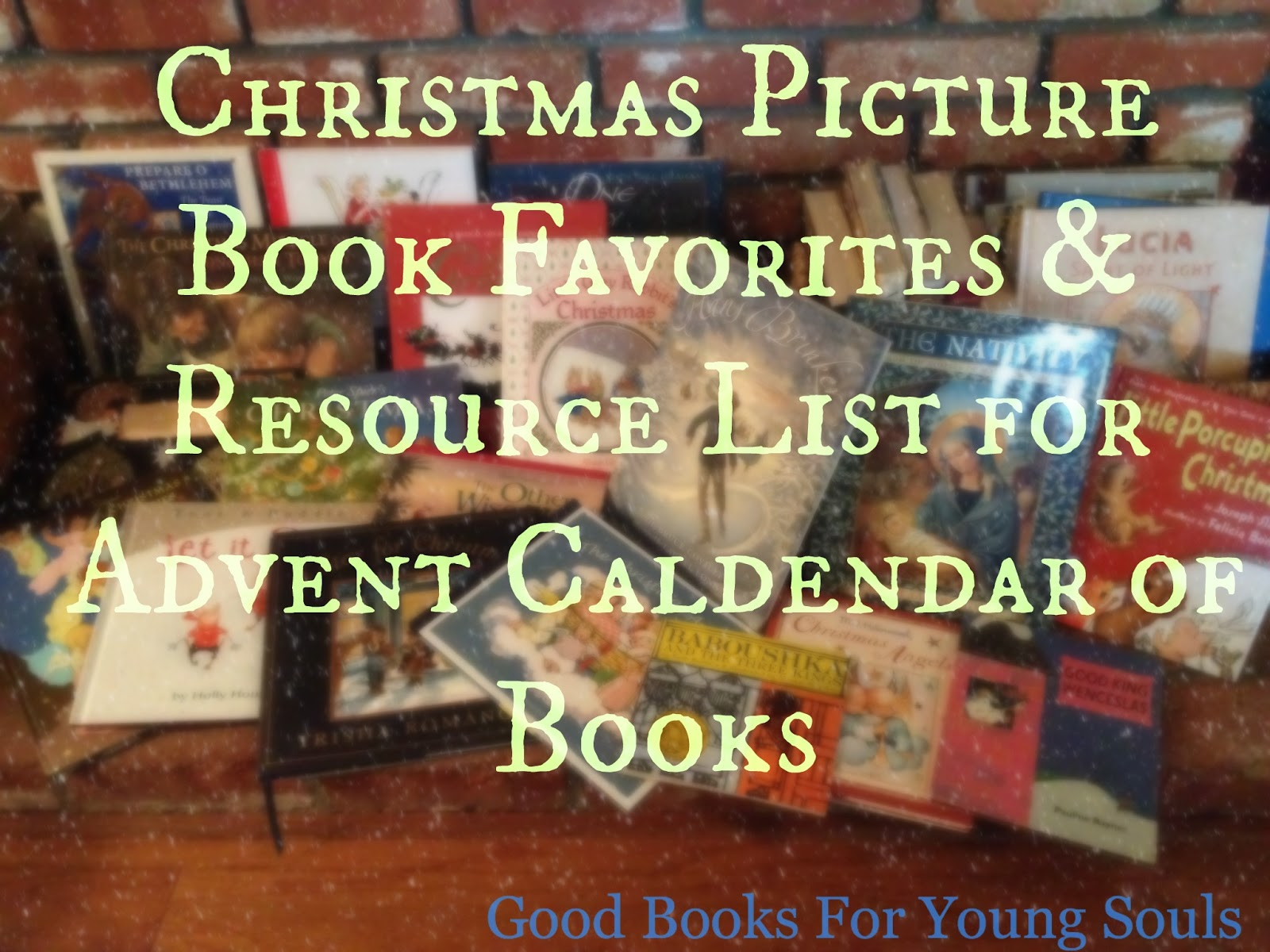 good books for young souls november 2011