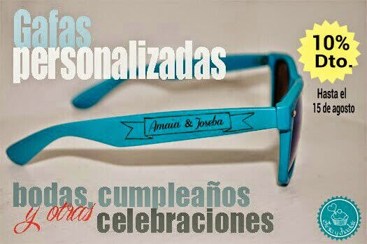 descuento gafas personalizadas