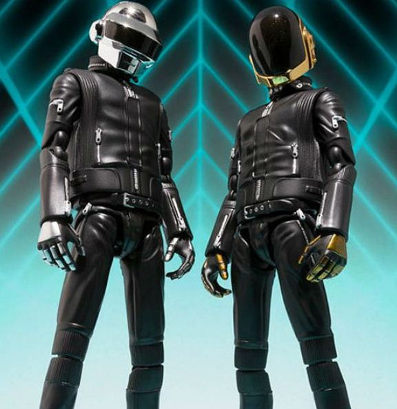 Daft Punk To Release Official Action Figures