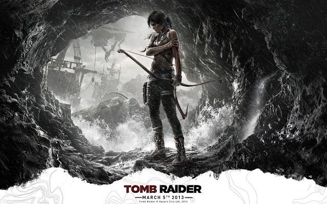 Packshot reveal - Tomb Raider