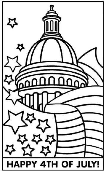 4th of july coloring pages let 39 s celebrate for 4th of july coloring page