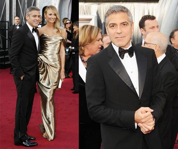 Look George Clooney Oscar 2012