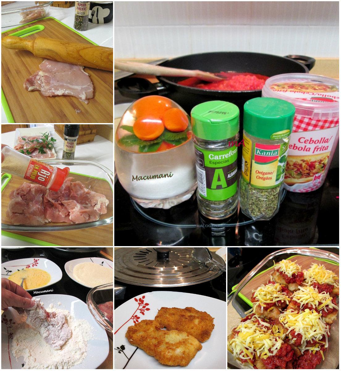 receta de pollo a la parmesana