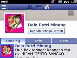 Kasus Penghina Warga Kerinci di FB, Ini Kata Mantan Suami Dela Putri Minang