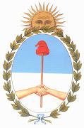 El escudo de la República Argentina fue aceptado oficialmente el 12 de marzo . escudo nacional argentino argentina