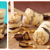 Sorvete de amendoim com chocolate no copinho