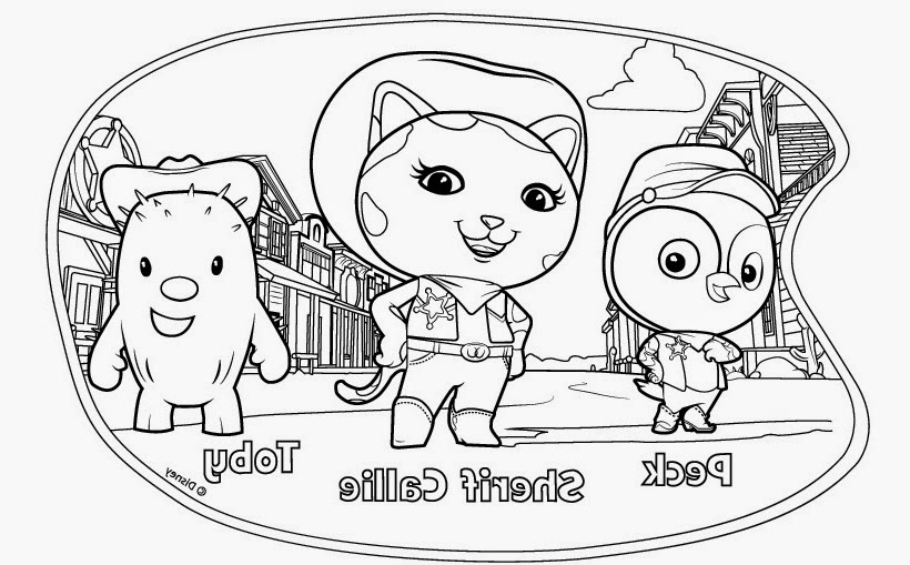 sheriff callie coloring pages photo32