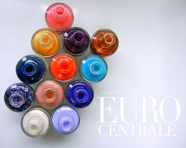 OPI Euro Centrale Collection