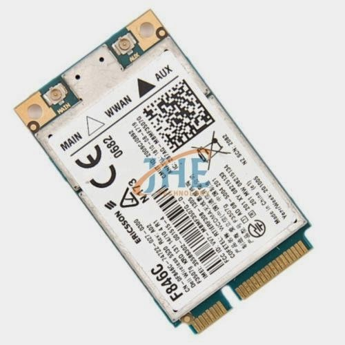 Unlocked Dell 5530 Eircsson F3507G C687R 3G GPS HSPA WWAN MINIPCI-E WIRELES Card