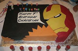 Tortas Iron Man, parte 3