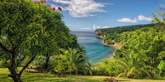 Montserrat beach and coastline