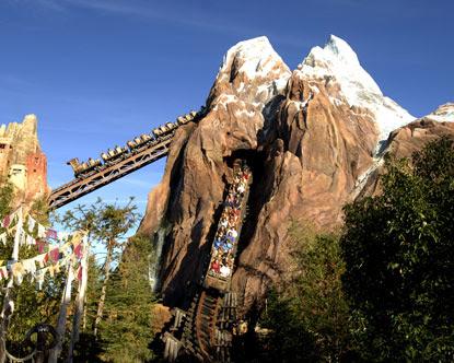 Parque Animal Kingdom Disney Everest